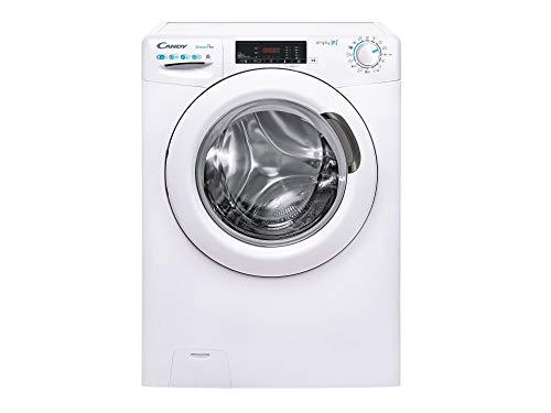 Candy CSOW TWE/1-S Machine à laver 1400 tr/min, 9 cycles, Wi-Fi + Bluetooth, blanc (8 kg)