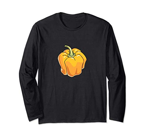 Yellow Pepper Long Sleeve T-Shirt