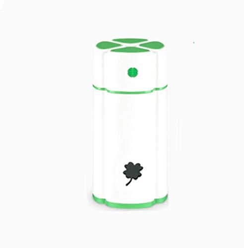 LIUFANY Trébol Noctilucente Humidificador De Aire,USB