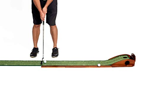 PERFECT PRACTICE Perfect Putting Mat - Official Putting Mat of Dustin Johnson, Compact Edition
