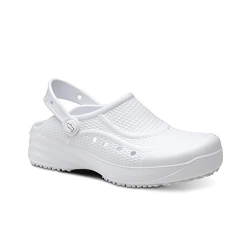 Feliz Caminar - Zueco Sanitario Flotantes Evolution Blanco, 36