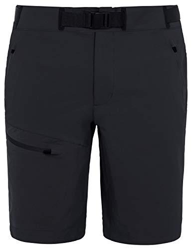 Vaude Herren Hose Badile Shorts, Black Uni, 52, 04630