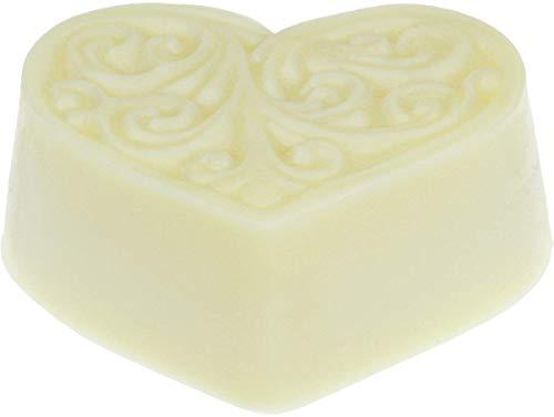 Greendoor Bodycremeherz Zitronen-Verbene 80g, Body Butter trockene Haut, Natur Hautpflege, BIO Sheabutter BIO Kakaobutter, natürlich ohne Parabene Palmöl Tierversuche, Naturkosmetik Bodymelt, Geschenk
