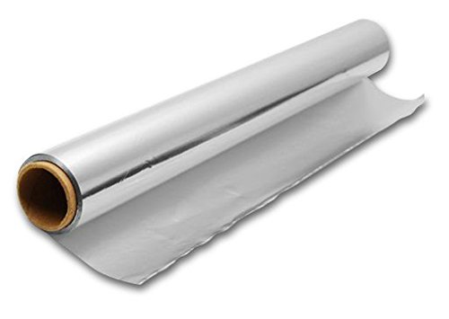 good4food Alurolle - Aluminiumfolie - Alufolie 60 cm breit - 100m lang - 18 My - superstark, reißfest und extra breit!