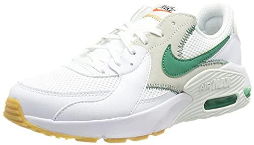 Nike Air MAX Excee, Zapatillas para Correr Mujer, White Green Noise Summit White Sail, 36.5 EU
