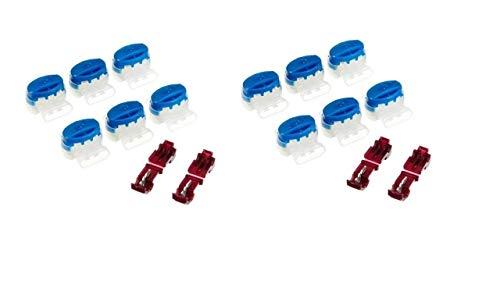 Gardena Verbinder/Anschlussklemmen (4089-20) für R40Li / R70Li (12 Kabelverbinder)