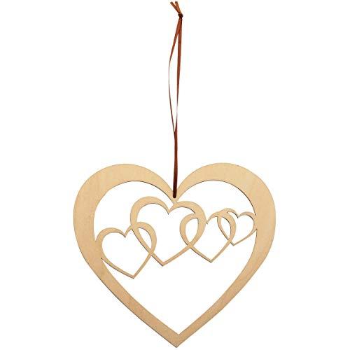 Spreukenband premium kwaliteit 100% emotioneel · Decoratieve hart van hout · Houten hart · Wanddecoratie · Wandversiering · Kerstdecoratie · Vensterafbeeldingen · Houten decoratie Kerstmis · Houten hart · Raamdecoratie