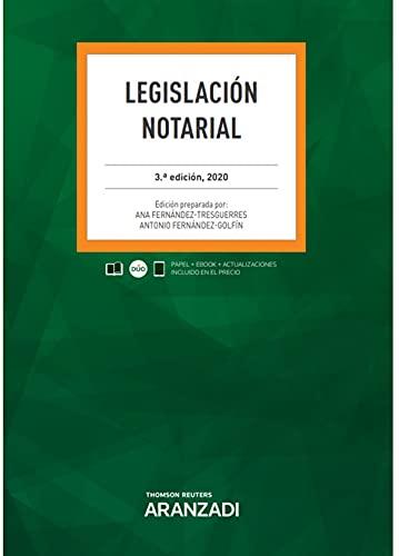 Legislación Notarial (Papel + e-book): 18 (Código Profesio