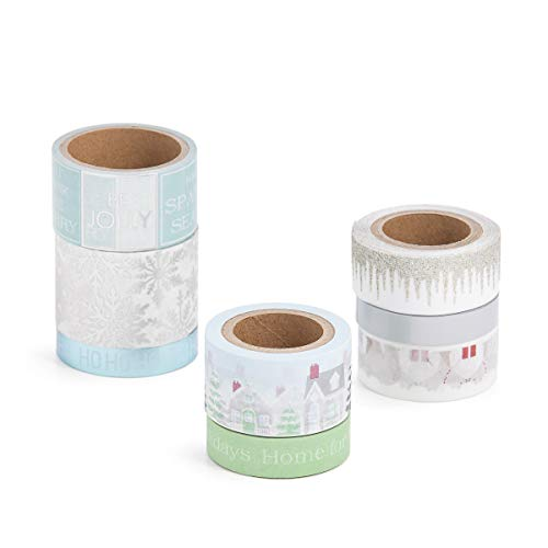 Martha Stewart Washi Tape-Home for the Holidays, Assorted