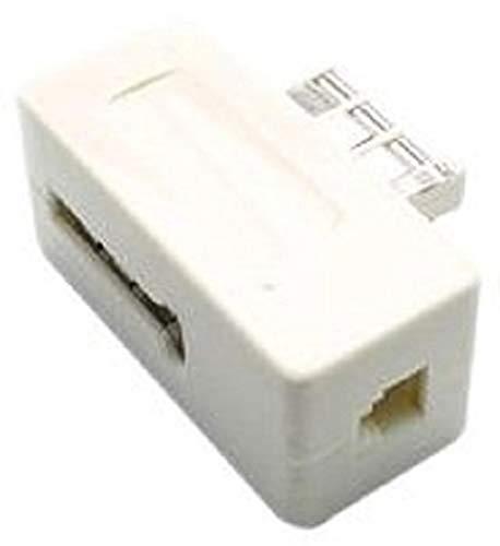 Metronic 495203 Filtre ADSL 2+ Prise RJ11 24 Mpbs