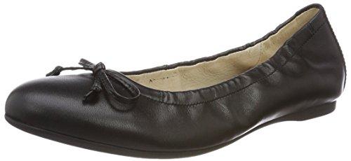 Gabor Shoes Gabor Shoes Damen Gabor Casual Geschlossene Ballerinas, Schwarz (Schwarz), 37 EU (4 UK)