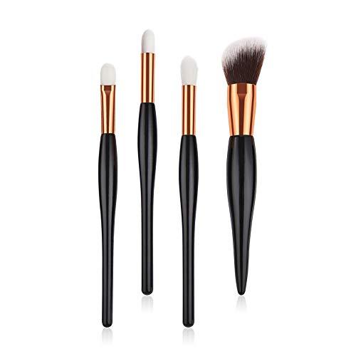Pinceau de Maquillage Kit de pinceaux de Maquillage pour pinceaux à Maquillage Professionnel pour pinceaux à Maquillage,Ensemble 4pcs