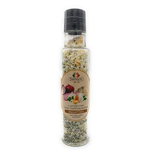 Italienische Spaghetti Gewürzmischung zum Kochen - 220 ml - Spaghetti Salz aus Italien - Kräutersalz der höchsten Qualität
