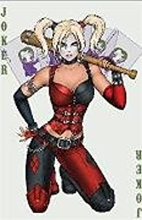 Suicide Squad Harley Quin Ace Playing Card Sticker Decal