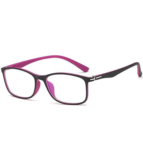 blue light glasses |gafas de sol| Hombres contra la radiación cristales hembra ordenador Gafas anti-Azul Lentes con espejo plano anti-anti-radiación azul y mujeres con el mismo párrafo (sin Grado)