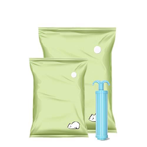 SXET Bolsa de Almacenamiento de compresión al vacío para el hogar para Ropa y Equipaje de edredón