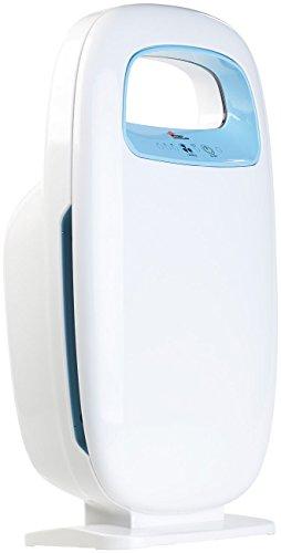 newgen medicals HEPA Luftreiniger: 5-Stufen-Luftreiniger mit 4 Filtern und Ionisator, für Räume bis 14 m² (Pollenfilter)