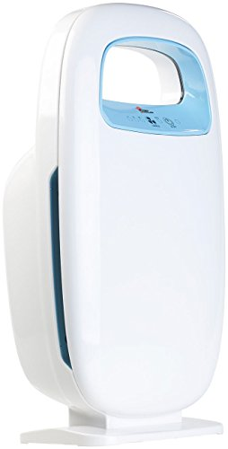 newgen medicals HEPA Luftreiniger: 5-Stufen-Luftreiniger mit 4 Filtern und Ionisator, für Räume bis 14 m² (Luftreiniger für Allergiker)