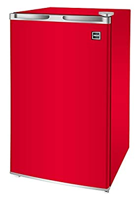 RCA RFR321-FR320/8 IGLOO Mini Refrigerator, 3.2 Cu Ft Fridge, Red
