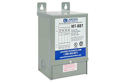 1 Phase Buck & Boost Step-Down Transformer - 240V Primary - 208V Secondary at 26.6 Amps - 50/60Hz