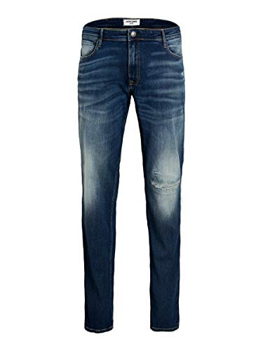 Jack & Jones JJIGLENN Jjoriginal SIK 631 PS Jeans, Bleu Denim, 54W x 34L Homme