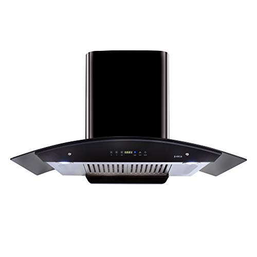 Elica 90 cm 1200 m3/hr Auto Clean Chimney with...