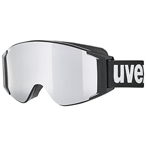 uvex Unisex– Erwachsene, g.gl 3000 TOP Skibrille, black, one size