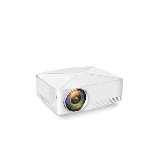 ThundeaL GP70 Upgrade TD80 Mini LED-projector 1280x720 Portable HD HDMI Video LCD (TD80UP Android wifi Beamer Optioneel) - Wit EU Android-versie