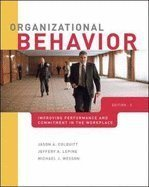 Organizational Behavior Improving Performance & Commitment in the Workplace (Hardcover, 2010) 2ND EDITION