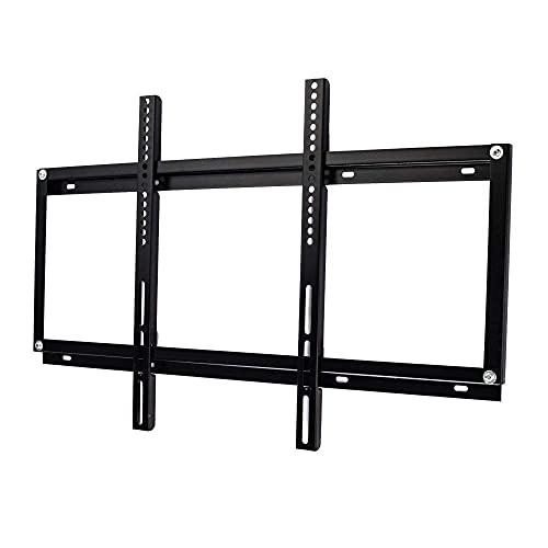 Soporte para TV, robusto marco de pared para TV de acero inoxidable para la mayoría de televisores de 42-65 pulgadas, soporte universal para monitor de hasta 65 kg de altura inclinable ajustable, máxi