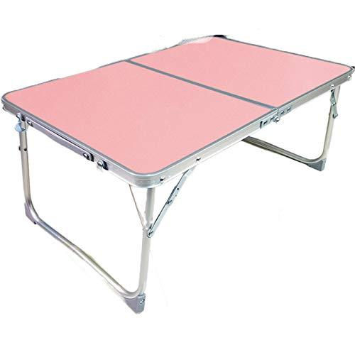 tooloflife Mesa de cama para ordenador portátil, 8 colores portátil, soporte de lectura, escritorio de dormitorio con patas plegables, mesa plegable multifuncional