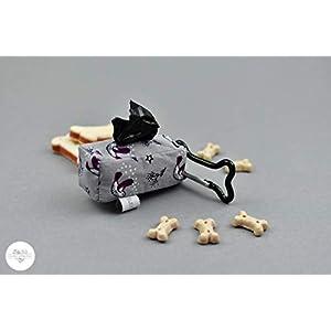 Hundekotbeutelspender – Vogel grau