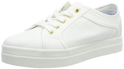 GANT Footwear Damen Aurora Sneaker, Weiß (White G29), 40 EU
