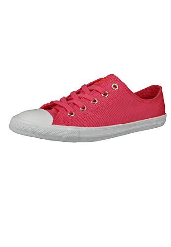 Converse Chucks 564306C Chuck Taylor All Star Dainty OX Strawberry Jam Tur Naranja, color Rojo, talla 37 EU