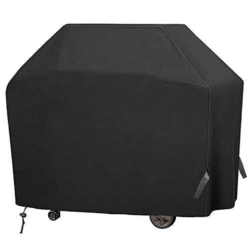 Grill Cover BBQ Cover, Gas Grill Cover 58 inch, 420D Double layer Oxford fabric, Waterproof UV and Fade Resistant, More Durable, Fits Weber Char-Broil...