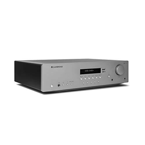 Cambridge Audio AXR100D – Ricevitore stereo DAB/FM da 100 watt, con phono stage integrato e Bluetooth