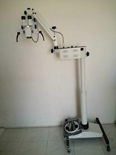 3 Step Floor Stand Surgical ENT Microscope - Manual Fine Focusing