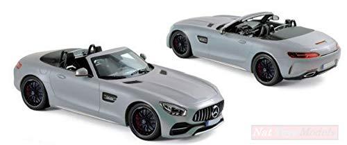 NOREV NV183453 Mercedes AMG GT C Roadster 2017 Silver 1:18 MODELLINO DIE Cast