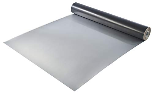 Milchtütenpapier | Abdeckpapier Alu laminiert 370 g/m² | Milchkarton | Rolle ca. 50 m² | Abdeckpappe | Schutzkartonage