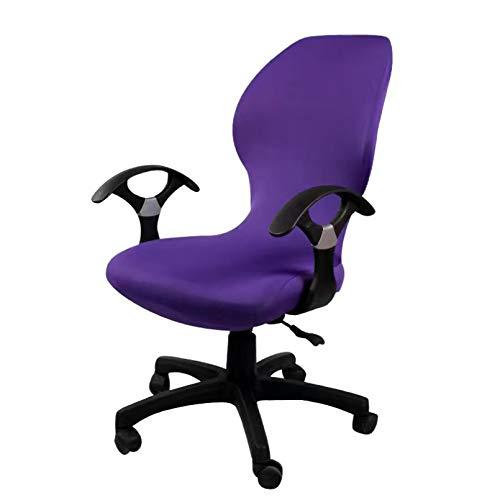 KUANGLANG Büro rotierende Computer Stuhlabdeckung Elastische Stuhlabdeckung Anti-Schmutz abnehmbare Hubstuhlbezüge für Sitzbezüge im Besprechungsraum