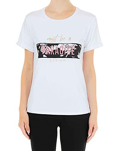 Liu Jo - Camiseta MC para mujer blanco S