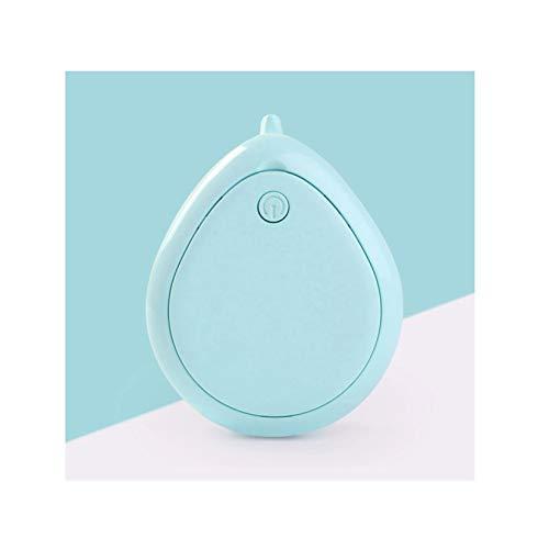 GMZS Mini aspiradora portátil, Escritorio de Oficina Dust Oft Table Sweeper, Adopte Vortex Sucion Design, Cleaner Home Kitchen,Azul