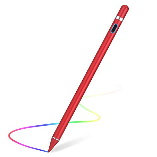 Stylus Pen for Touch Screens Rechargeable 1.5mm Fine Point Active Capacitive Stylus Smart Pencil...