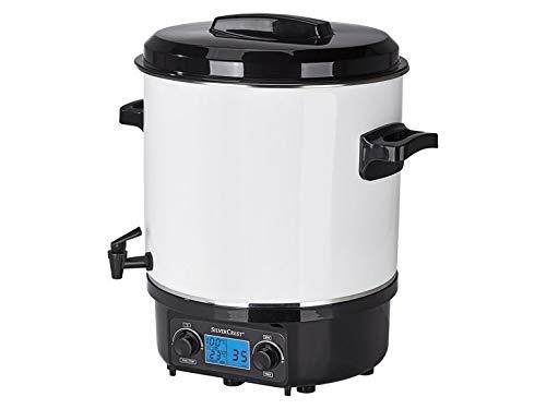 Einkochautomat 1.800 Watt Einkochtopf Glühweintopf Heißgetränkeautomat Glühweinautomat Variable Temperatureinstellung