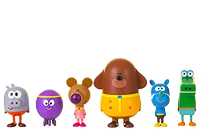 Hey Duggee 1870R Squirrel Figurine Set with Duggee, Multi by Golden Bear Toys