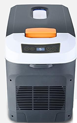 LYZL Refrigerador De Coche Silencioso Portátil De 25L Mini Nevera para Acampar, Viajar, Barco, 12V / 24V / 220V