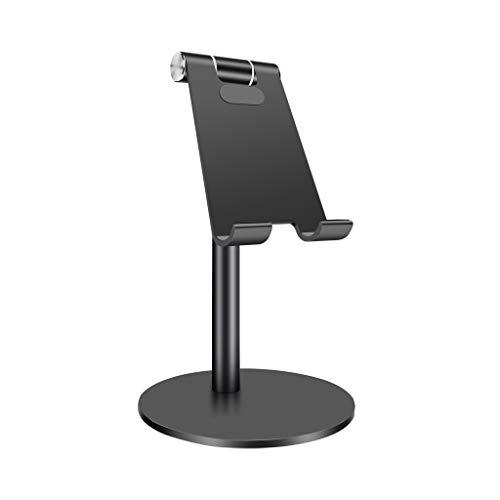 BANGNA Supporto Universale in Alluminio con Rotazione a 360 Gradi Supporto per Supporto telescopico Supporto Multi-Angolo per Cellulare Tablet da 3-13 Pollici per Telefono Cellulare