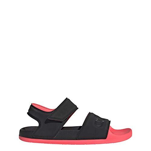 adidas Damen DUZ26 Wasserschuh, Schwarz/Schwarz/Signal-Pink, 36 EU