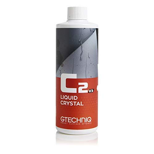 Price comparison product image Gtechniq C2 v3 Liquid Crystal Spray - Hydrophobic Nano Coat Paint Sealant,  Repels Water,  Dirt,  Provides Premium Panel Protection Against Water and UV Damage - No Hassle,  Easy To Apply (500mL)