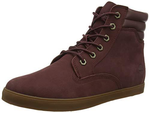 Timberland Damen Dausette Sneaker Stiefel, Rot (Dark Brown Nubuck), 39 EU